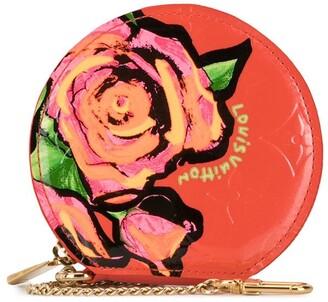 Louis Vuitton 2009 Rose Motif Coin Purse