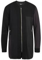 3.1 Phillip Lim Black Embroidered Cotton Tunic