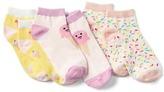 Gap Graphic ankle socks (3-pack)