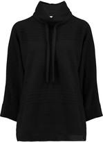IRO Bindy woven turtleneck sweater