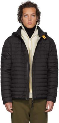 Parajumpers Black Down Winter Tripper Alden Jacket