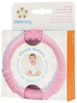 Lifefactory Silicone Teether 2-Pack - Pink / Lilac