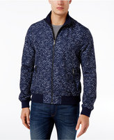 Michael Kors Men's Frond Print Zip-Front Jacket