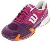Wilson Women's Rush Pro 2.0 Fiesta Pink/Plumberry Sneaker (7.5)