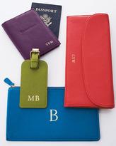Neiman Marcus Travel Wallet, Plain