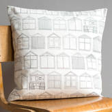 Joanna Corney Beach Huts Cushion