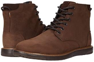Toms Hillside (Chestnut Leather) Men's Shoes