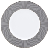 "Lenox Silver Sophisticate 9"" Accent Plate"