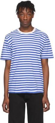 Maison Margiela Three-Pack Tricolor Striped T-Shirt