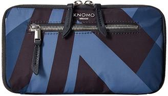 KNOMO London VA Knomad Travel Wallet (Dark Navy) Wallet Handbags