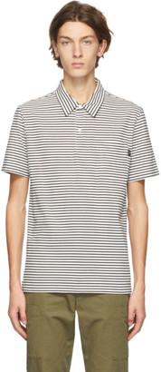 Paul Smith Black and White Stripe Polo