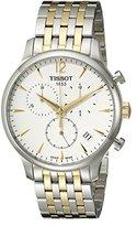 Tissot Men's T0636172203700 Tradition Analog Display Swiss Quartz Two Tone Watch