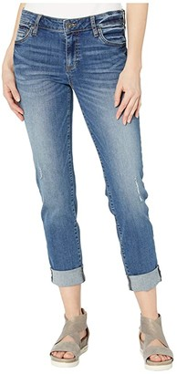 KUT from the Kloth Catherine Boyfriend Five-Pockets in Acclaim (Acclaim) Women's Jeans