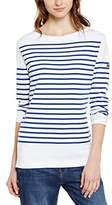 Armor Lux Women's 7231 Striped Long Sleeve T-Shirt