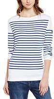 Armor Lux Women's 7231 Striped Long Sleeve T-Shirt