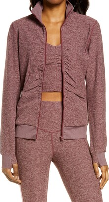 Zella Lola Restore Soft Lounge Cozy Jacket