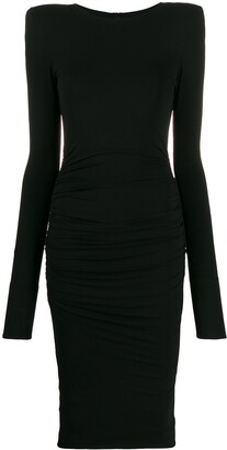 Alexandre Vauthier fitted midi dress