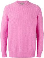 N.Peal waffle knit jumper - men - Cashmere - S