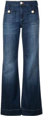 L'Autre Chose high-waist flared jeans