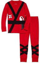 Sara's Prints Boys' Ninja Pajama Set - Sizes 2-7