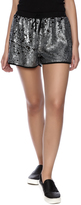 Molly Bracken Sequin Drawstring Shorts