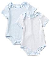 Edgehill Collection Baby Boys Newborn-6 Months 2-Pack Bodysuit