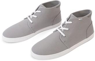 Toms Drizzle Grey Canvas Men's Carlo Sneakers