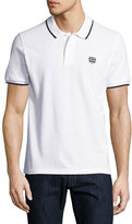 Kenzo Classic Contrast-Tip Polo Shirt