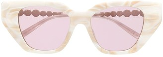 Gucci Oversized-Frame Sunglasses