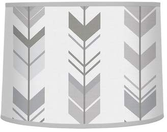 "JoJo Designs Sweet Mod Arrow 10"" Brushed Microfiber Drum Lamp Shade Sweet"