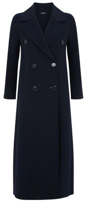 Max Mara Custodi Wool Longline Coat