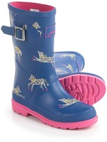 Joules Zebra Rain Boots - Waterproof (For Little and Big Girls)