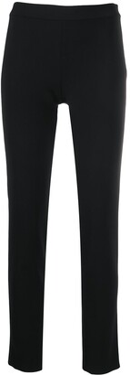 Moschino High-Waist Skinny-Fit Trousers