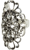 Charlotte Russe Oval Filigree Ring