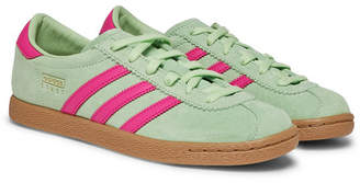 adidas Stadt Suede And Leather Sneakers