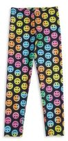 Flowers by Zoe Girl's Smiley Leggings