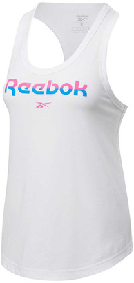 Reebok Womens Workout Ready MYT Graphic Tank