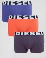 Diesel Solid Trunks 3 Pack Multi
