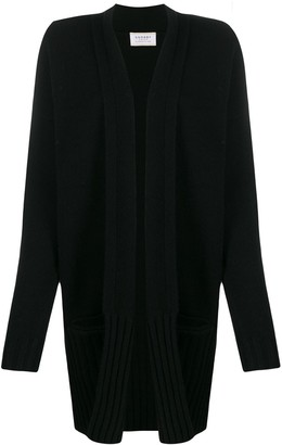 Snobby Sheep ribbed hem cardigan