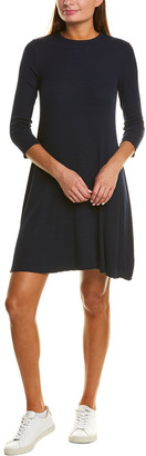 Three Dots Rib Shift Dress