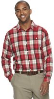 Columbia Men's Notched Peak Classic-Fit Plaid Button-Down Flannel Shirt