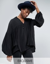 Reclaimed Vintage Inspired Tunic Shirt