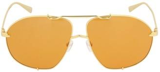 ATTICO Mina Oversize Aviator Sunglasses