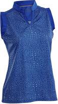 Asstd National Brand Nancy Lopez Golf Sing Sleeveless Polo