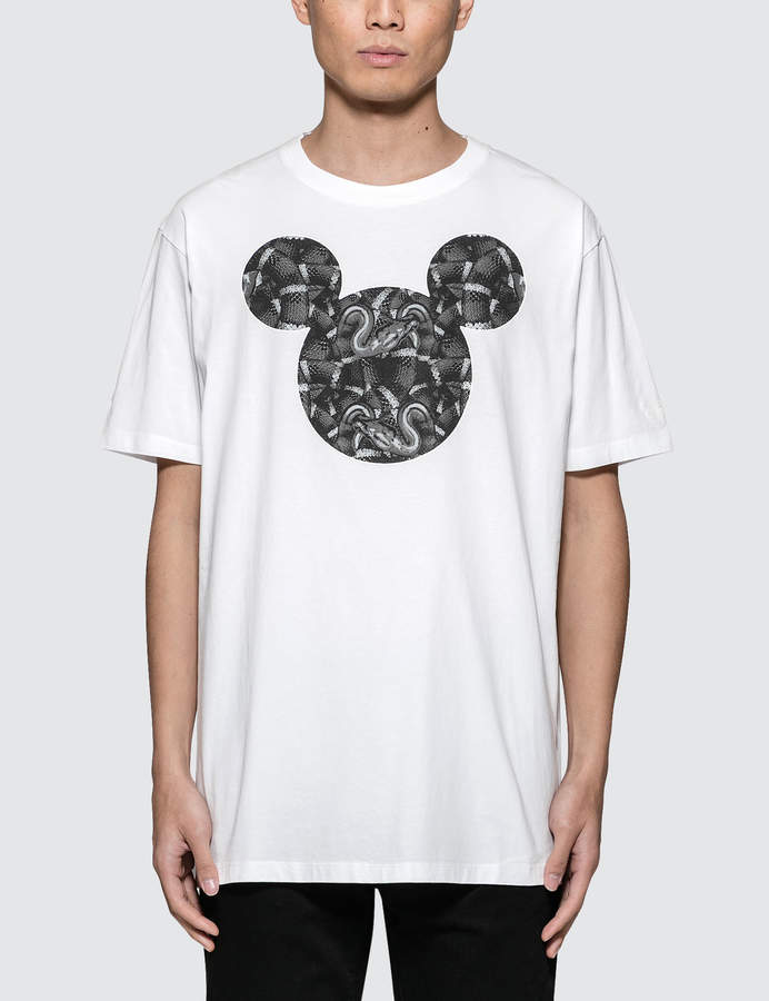 Marcelo Burlon County of Milan Mickey Mouse Snake T-Shirt
