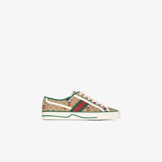 Gucci x Disney brown Tennis 1977 sneakers