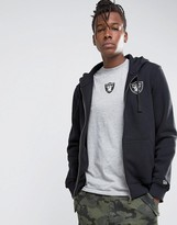 New Era Raiders Zip Through Hoodie