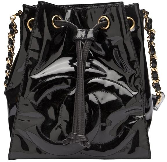 American Rag CHANEL VINTAGE Patent leather satchel