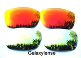 Galaxylense Galaxy Replacement Lenses for Oakley Fives Squared Color Polarized 2 Pairs