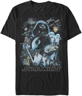 Star Wars Men's Galaxy of Graphic T-Shirt